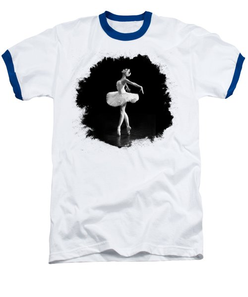 Dying Swan I T Shirt Customizable Baseball T-Shirt by Clare Bambers