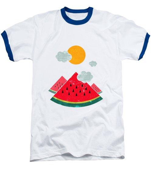 Eatventure Time Baseball T-Shirt by Mustafa Akgul