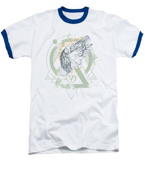 Enigma Baseball T-Shirt by Chad Lonius