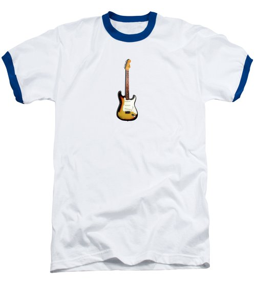 Fender Stratocaster 65 Baseball T-Shirt by Mark Rogan