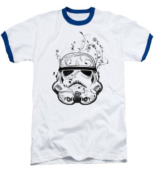 Flower Trooper Baseball T-Shirt by Nicklas Gustafsson
