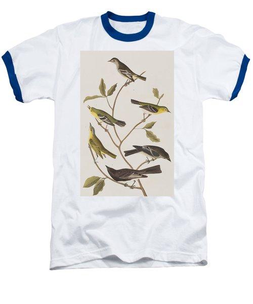Fly Catchers Baseball T-Shirt by John James Audubon
