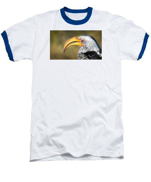 Flying Banana Baseball T-Shirt by Joe Bonita