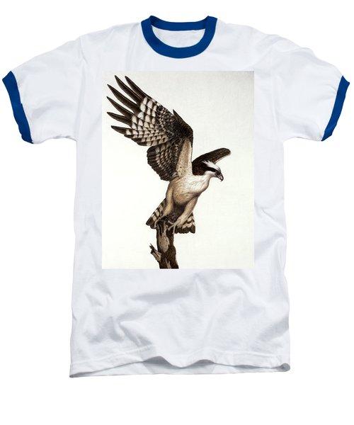 Going Fishin' Osprey Baseball T-Shirt by Pat Erickson