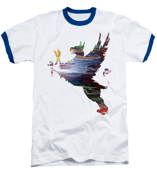 Griffon Baseball T-Shirt by Mordax Furittus