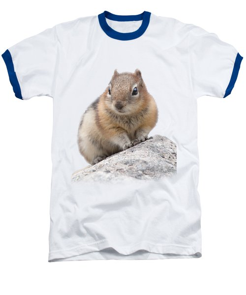 Ground Squirrel T-shirt Baseball T-Shirt by Tony Mills