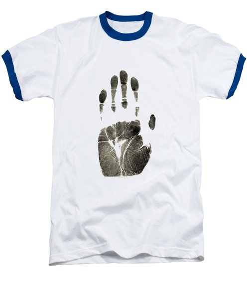 Handprint Phone Case Baseball T-Shirt by Edward Fielding