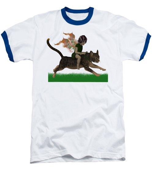 Having Fun Baseball T-Shirt by Nancy Pauling