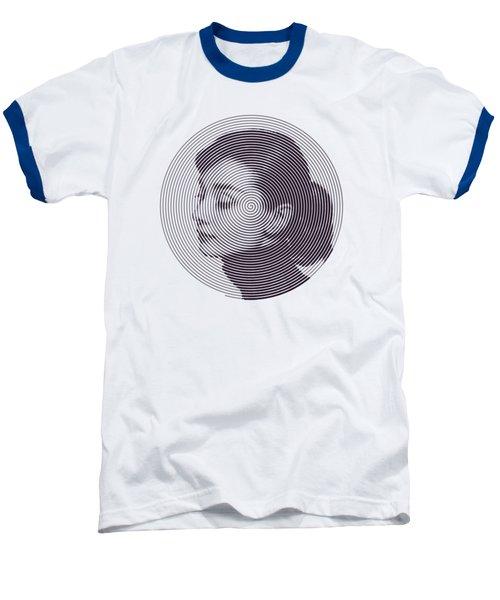 Hepburn Baseball T-Shirt by Zachary Witt