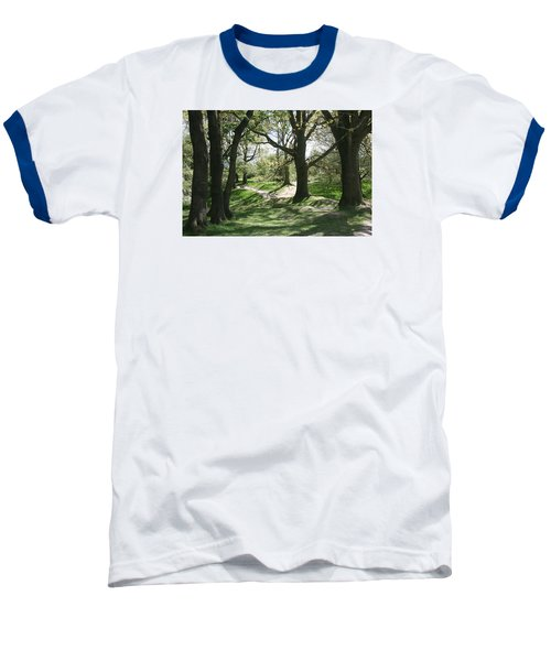 Baseball T-Shirt featuring the photograph Hill 60 Cratered Landscape by Travel Pics