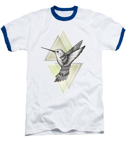 Hummingbird Baseball T-Shirt by Barlena