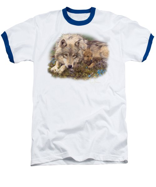 In A Safe Place Baseball T-Shirt by Lucie Bilodeau