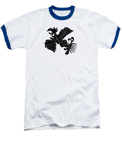 Phoenix Tee Shirt 3 Baseball T-Shirt by Nathan Beardsley