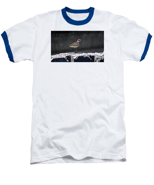 Killdeer Baseball T-Shirt by M Images Fine Art Photography and Artwork