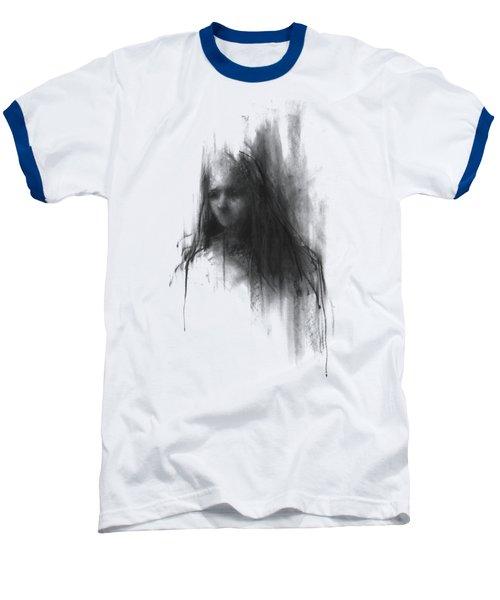 Like A Girl Baseball T-Shirt by Bruno M Carlos