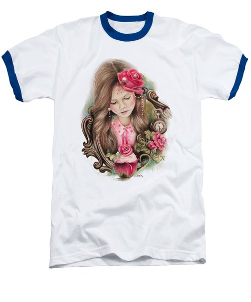 Make A Wish  Baseball T-Shirt by Sheena Pike