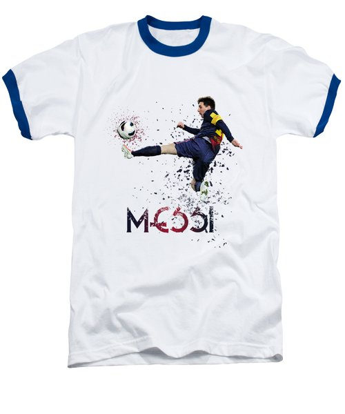 Messi Baseball T-Shirt by Armaan Sandhu
