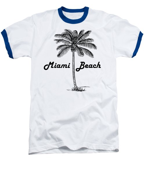 Miami Beach Baseball T-Shirt by Product Pics