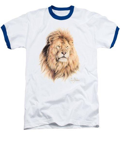 Mufasa Baseball T-Shirt by Lucie Bilodeau