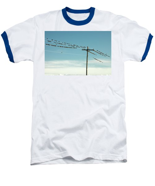 Not Like The Others Baseball T-Shirt by Todd Klassy