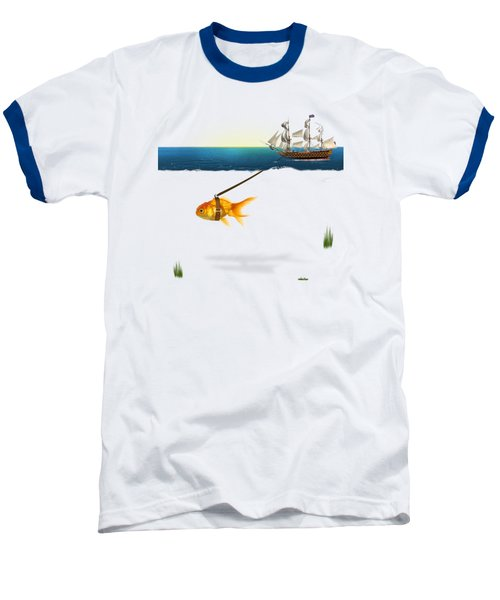 On The Way  Baseball T-Shirt by Mark Ashkenazi