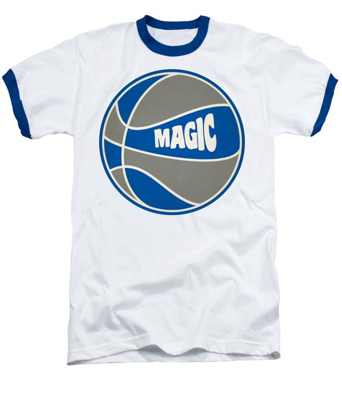 Orlando Magic Retro Shirt Baseball T-Shirt by Joe Hamilton