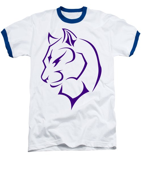 Panther Baseball T-Shirt by Frederick Holiday