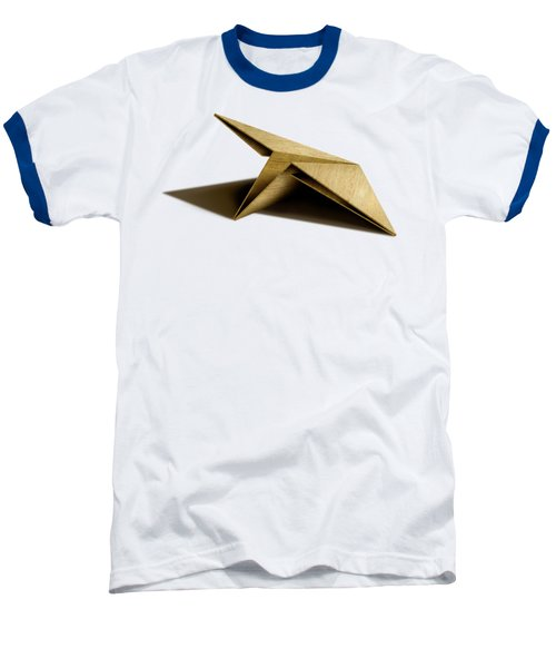Paper Airplanes Of Wood 7 Baseball T-Shirt by YoPedro