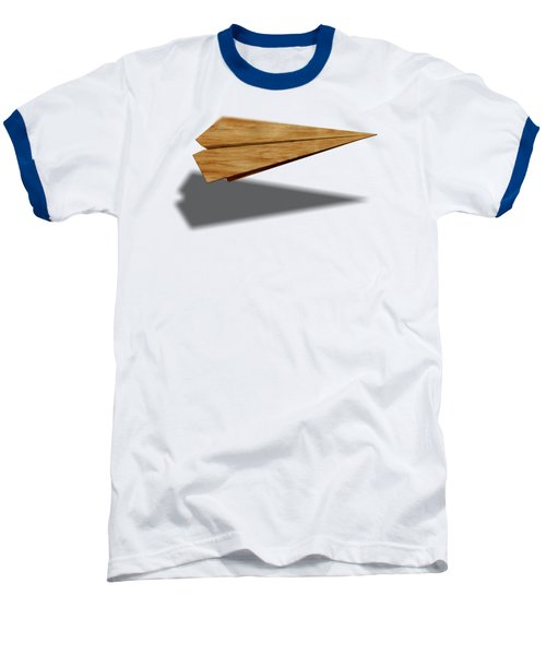Paper Airplanes Of Wood 9 Baseball T-Shirt by YoPedro
