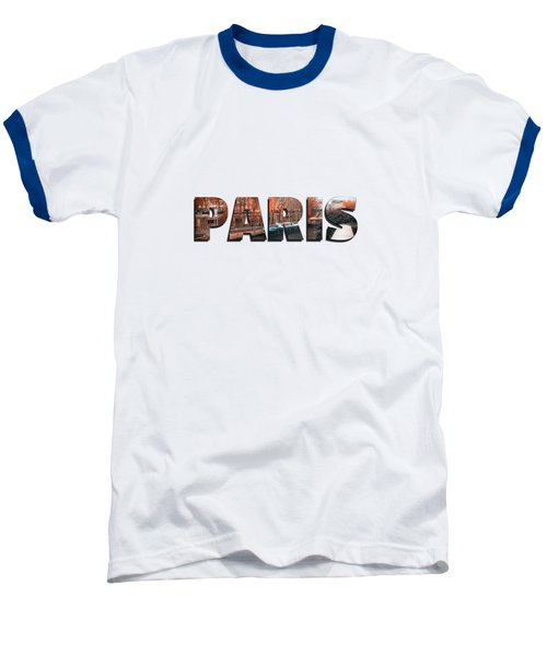 Paris In Fall Baseball T-Shirt by Konstantin Sevostyanov