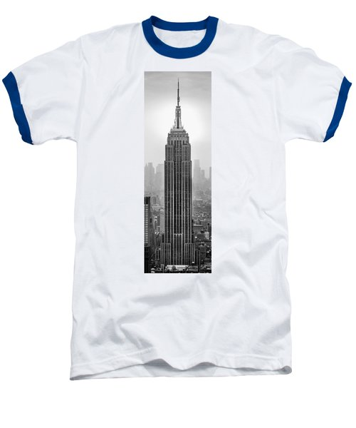 Pride Of An Empire Baseball T-Shirt by Az Jackson