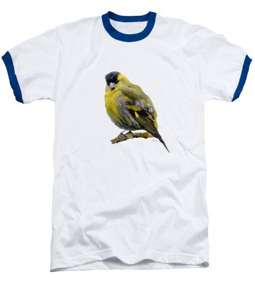 Siskin - Carduelis Spinus Baseball T-Shirt by Bamalam  Photography