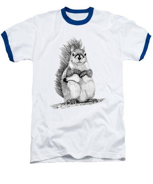 Squirrel Baseball T-Shirt by John Stuart Webbstock
