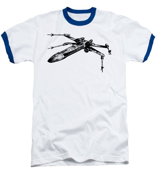 Star Wars T-65 X-wing Starfighter Tee Baseball T-Shirt by Emf