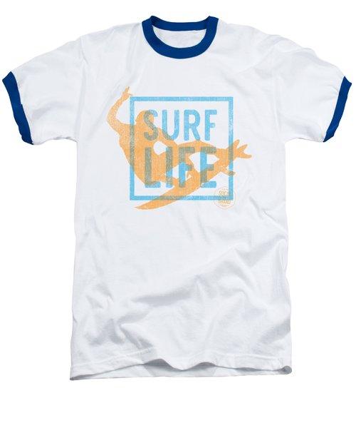 Surf Life 1 Baseball T-Shirt by SoCal Brand