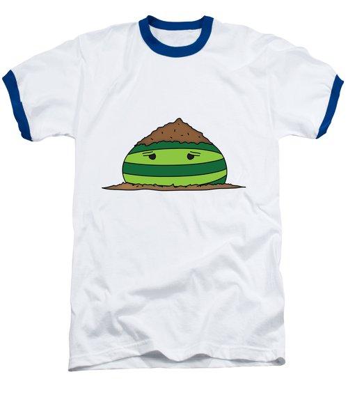 T H E . E L E M E L O N S ______________ E A R T H M E L O N Baseball T-Shirt by H U M E A I M A R T