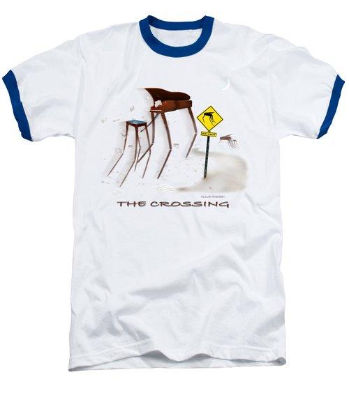 The Crossing Se Baseball T-Shirt by Mike McGlothlen