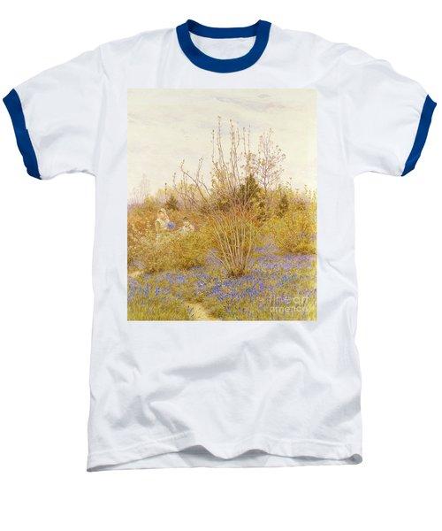The Cuckoo Baseball T-Shirt by Helen Allingham