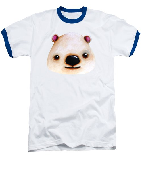 The Polar Bear Baseball T-Shirt by Lucia Stewart