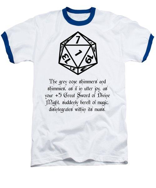 There Goes That Sword Baseball T-Shirt by Jon Munson II