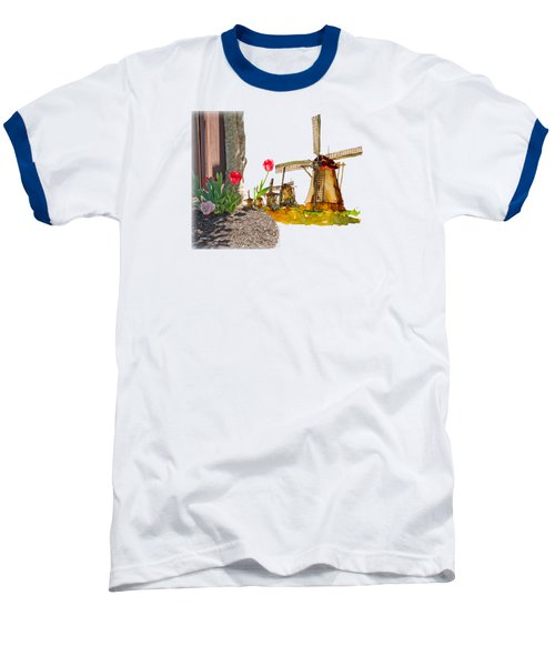 Thinkin Bout Home Baseball T-Shirt by Larry Bishop