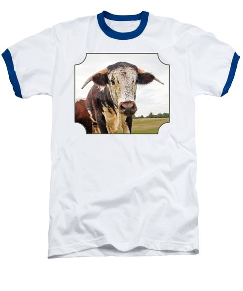 This Is My Field Baseball T-Shirt by Gill Billington