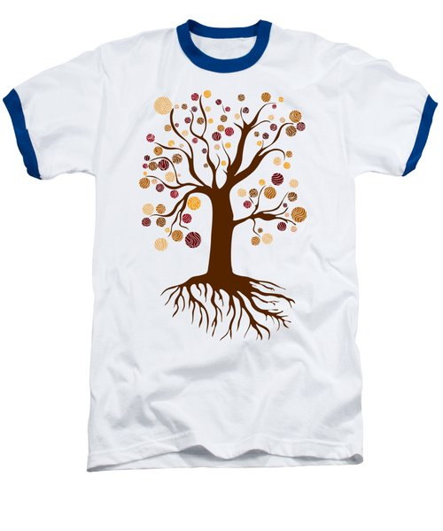 Tree Baseball T-Shirt by Frank Tschakert