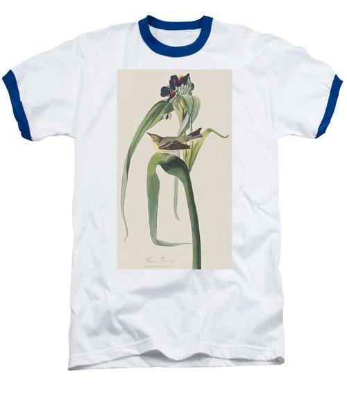 Vigor's Warbler Baseball T-Shirt by John James Audubon
