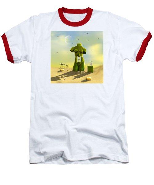 The Nightstand Baseball T-Shirt by Mike McGlothlen