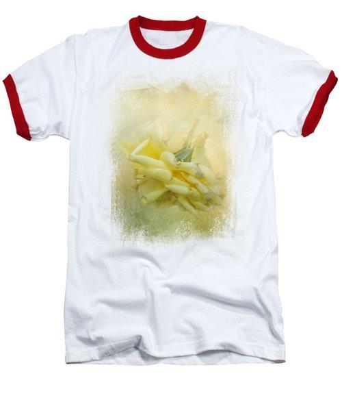 The Last Yellow Rose Baseball T-Shirt by Jai Johnson