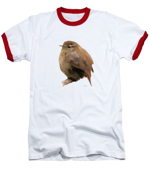 Young Female Blackbird - Turdus Merula Baseball T-Shirt by Bamalam  Photography