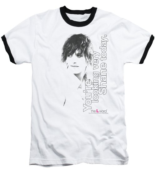 The L Word - Looking Shane Today Baseball T-Shirt by Brand A