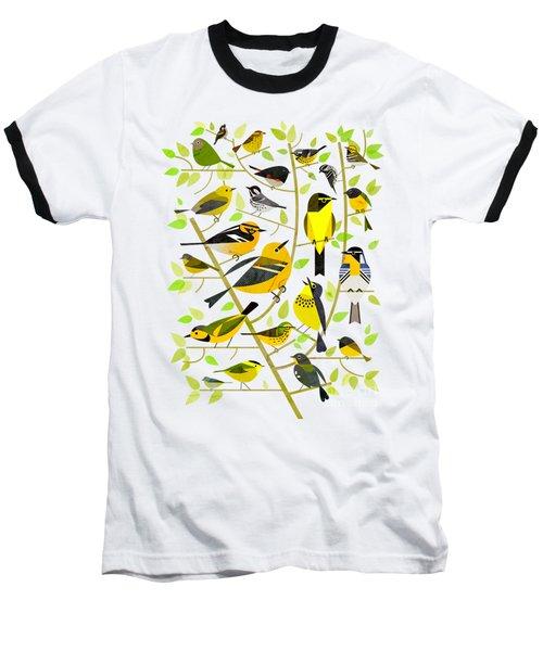 Warblers 1 Baseball T-Shirt by Scott Partridge
