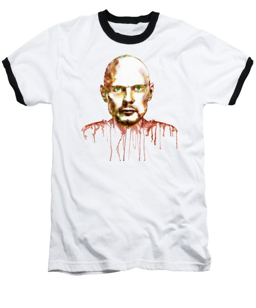Billy Corgan Baseball T-Shirt by Marian Voicu